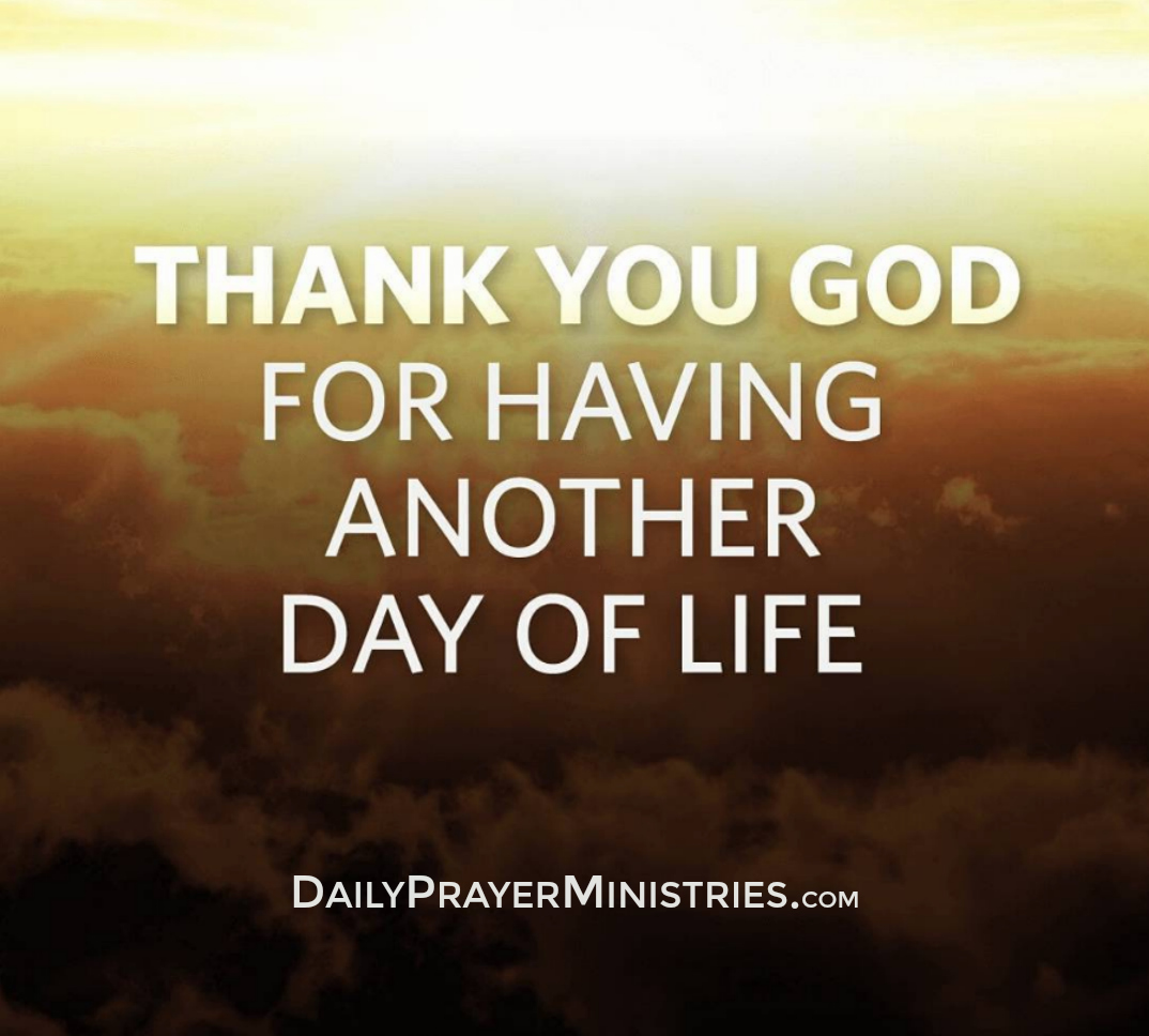 Thank You God Daily Prayer Ministries